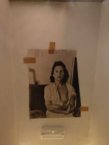 Dali's wife, Gala.