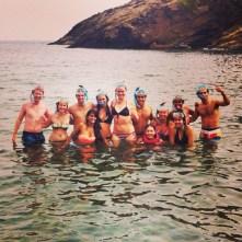 The snorkeling gang!