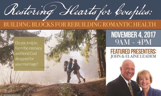 Restoring Hearts for Couples Conference is presented by the Christian Network Forum for Sexual Health