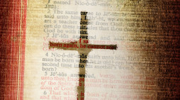 Bible cross pd