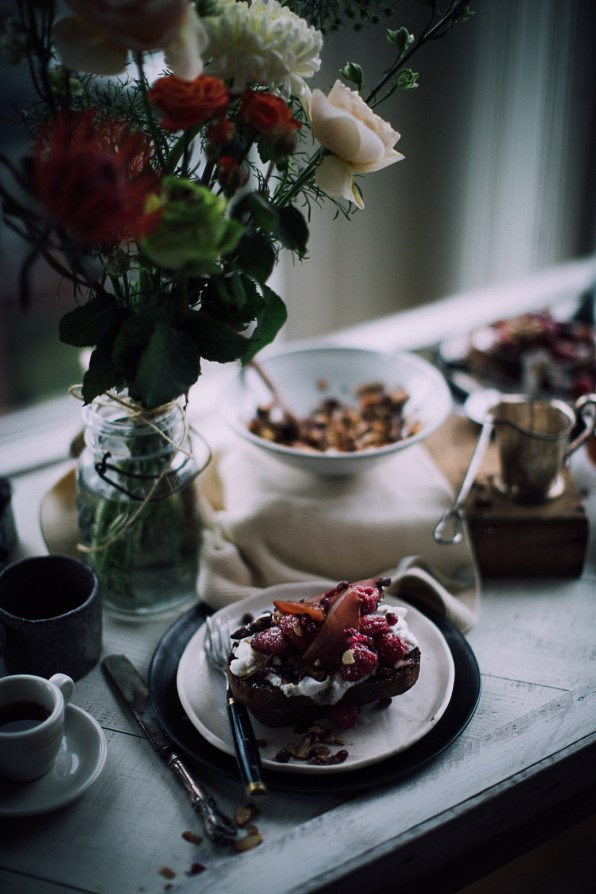 French toast with poached pears | Recipe, Photography & Styling by Christiannkoepke.com-25