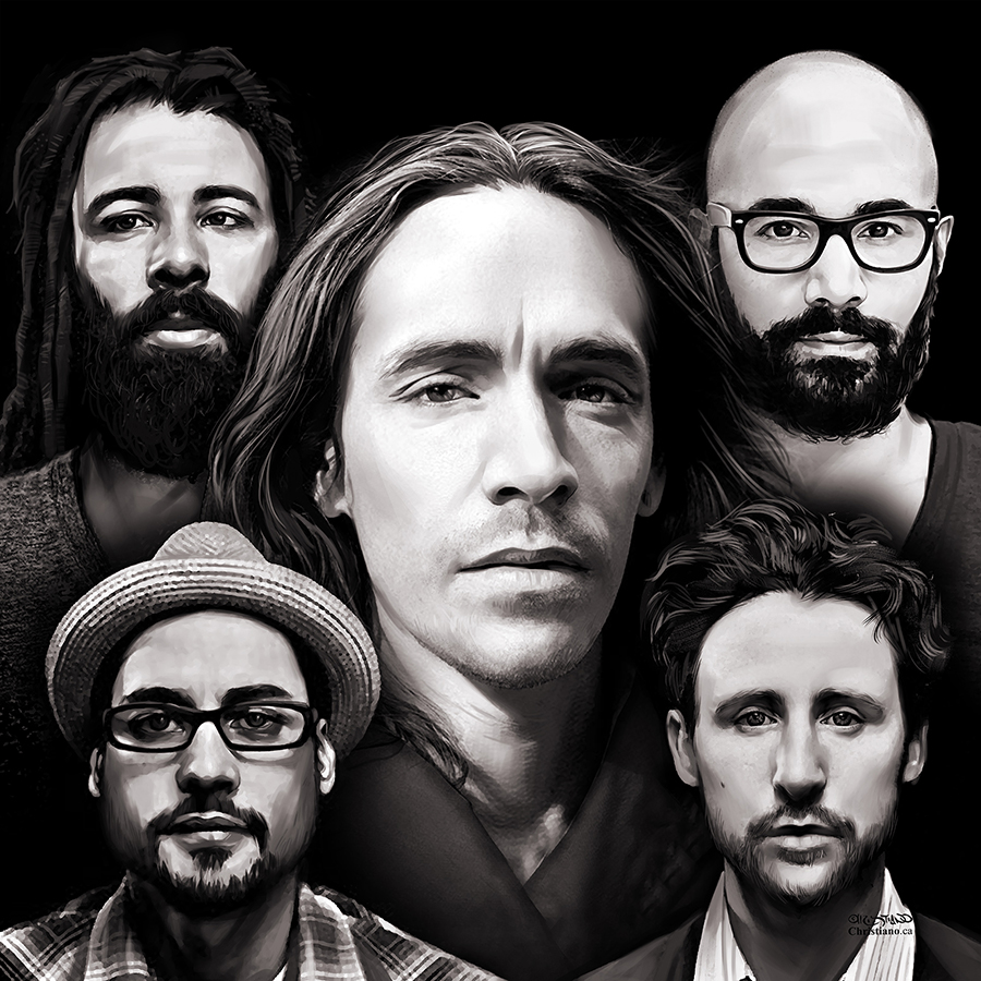 INCUBUS – Design for Bud Stage artist walkway project – Client: ANOMALY-LIVE NATION – Media: Digital Art Photoshop – Location: Toronto 2017