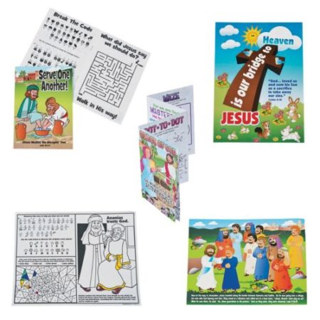 Sunday school Christian stickers and activities kids