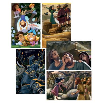 5 Sunday school posters