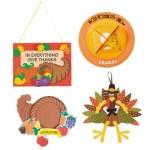 Sunday School Thanksgiving crafts