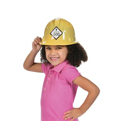 Sunday school construction hat kids