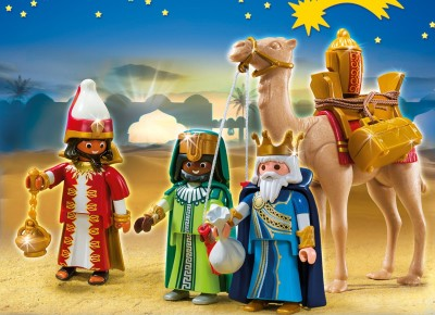 Christmas Three Wise Men Toy Play set