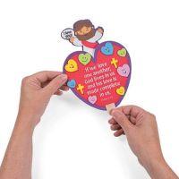 12 Religious Jesus Valentines Day crafts kids