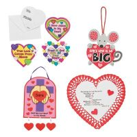 60 Sunday school Valentines Day crafts