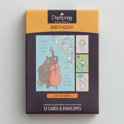 kids Religious birthday cards boxed