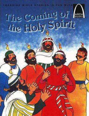 Story of Pentecost Holy Spirit kids book