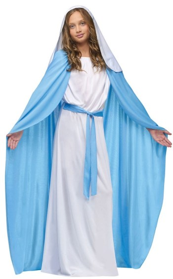 Biblical Mary Easter costume kids
