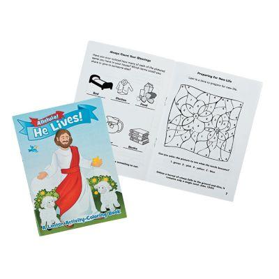 Season of Lent Sunday school activity books