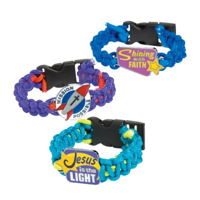 12 VBS Galaxy outer space bracelet crafts