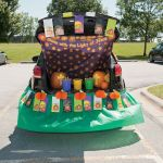Religious pumpkin trunk treat Halloween ideas
