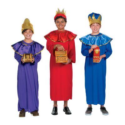 Nativity Wisemen costumes for kids