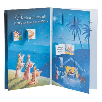 Advent calendar story books kids