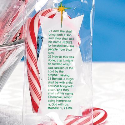 Christian Christmas candy canes
