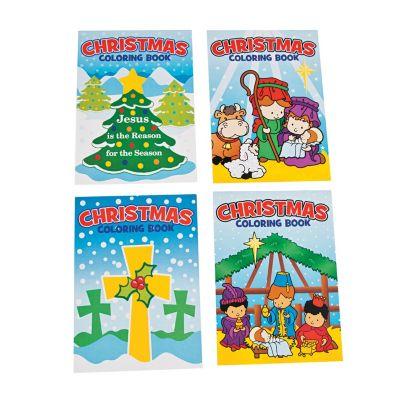 Bulk Christian Christmas coloring books