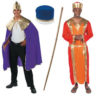 Adult christmas Wise Men Costumes