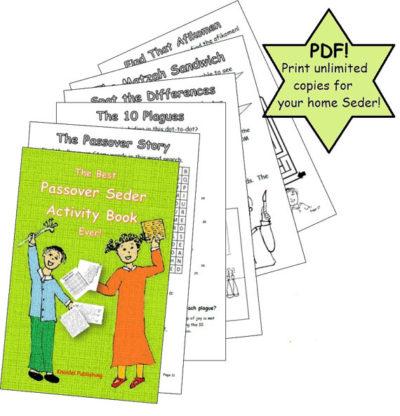 Kids Passover Activity book download