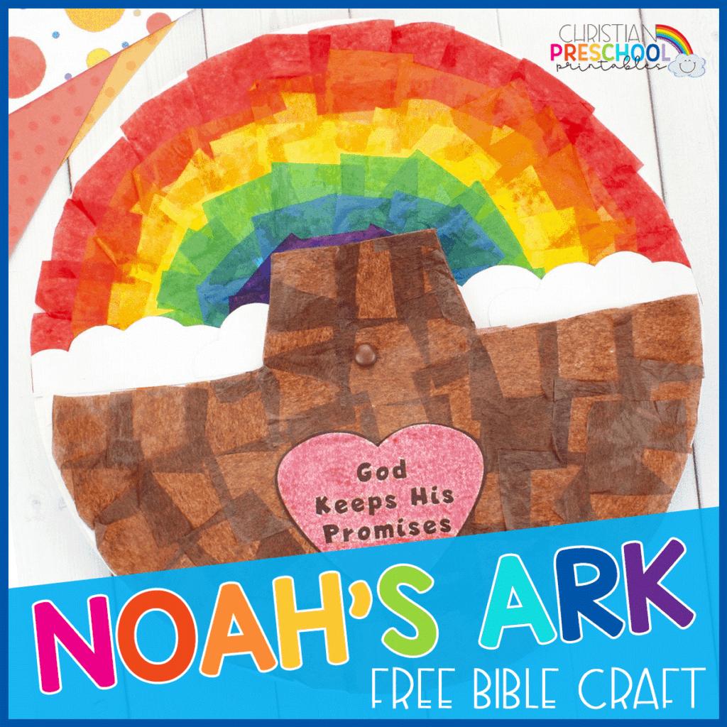 Noah S Ark Craft Spinner For Kids