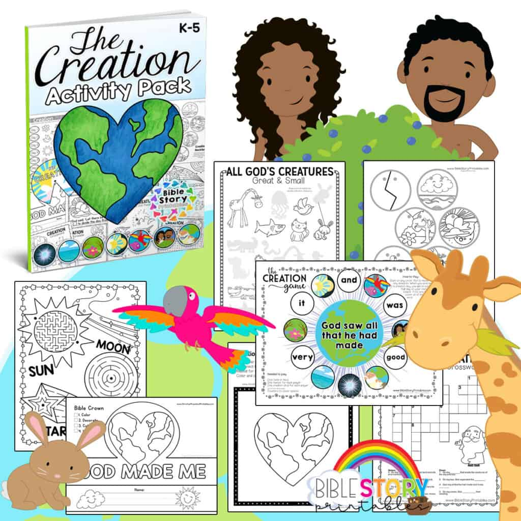 Creation Crafts For Preschoolers