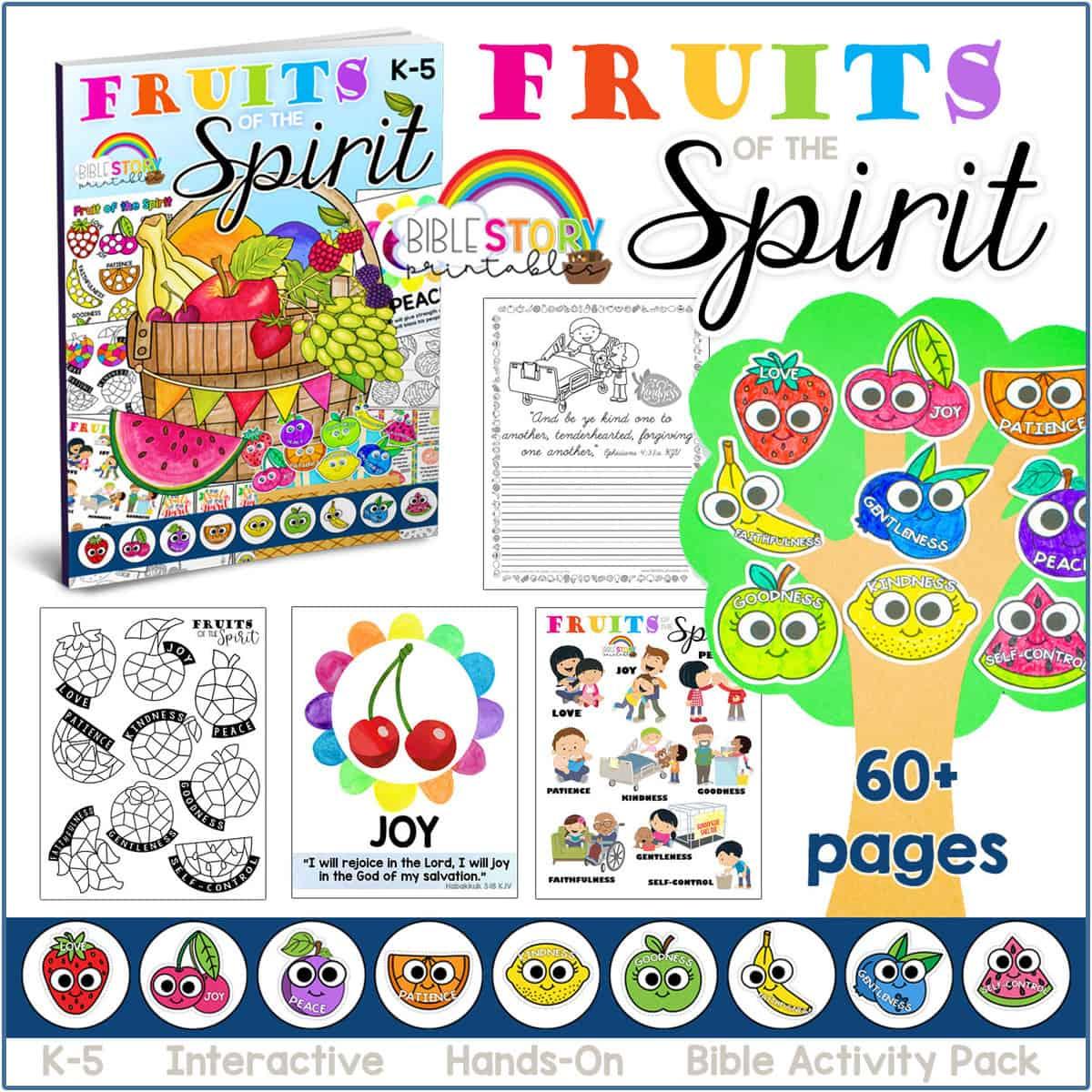 Fruitofthespiritworksheets 1