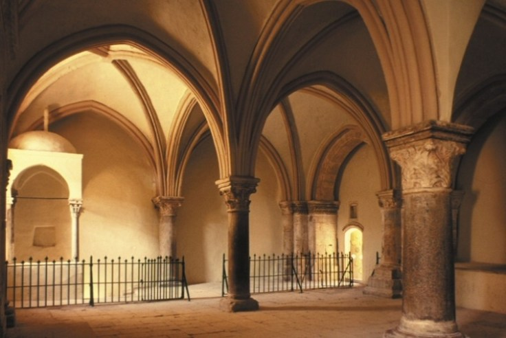 a-historical-tradition-locates-the-upper-room-in-the-cenacle-on-mount-zion
