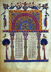 Illustrated Armenian Bible from 1256