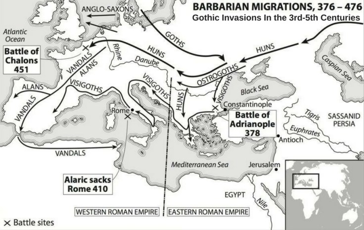 Gothic invasions in the 3rd century
