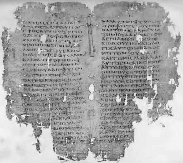 Papyrus MSS
