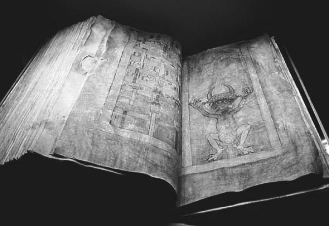 The CodexGigas, 13th century, Bohemia.
