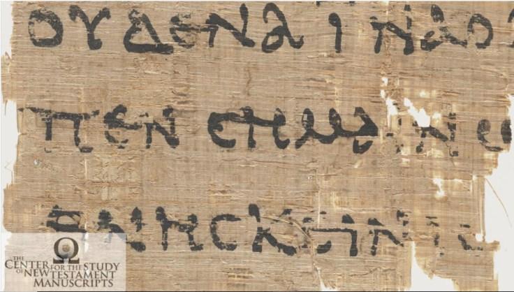 Papyrus 52 - P52