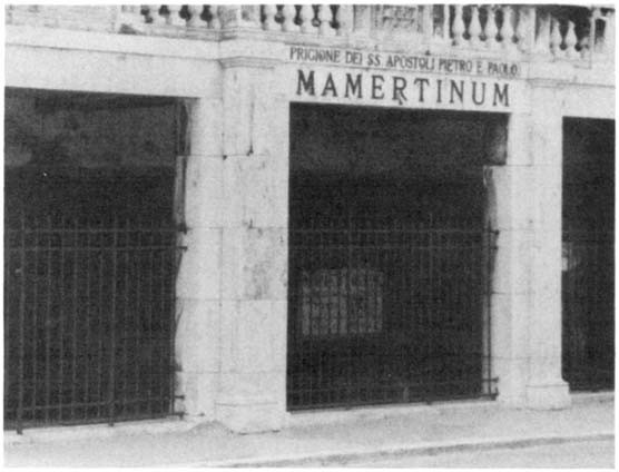 Mamertine prison in Rome