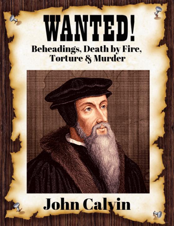 John Calvin Wanted for Murder