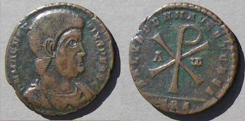 Chi-Rho-Coin Staurogram