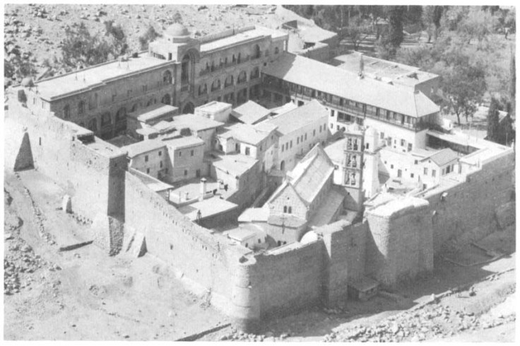 St. Catherine's monastery at Mt Sinai