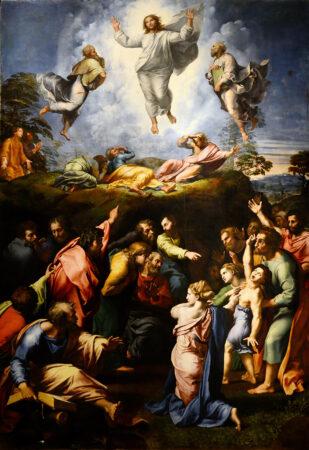 THE TRANSFIGURATION OF JESUS CHRIST BY RAPHAEL
