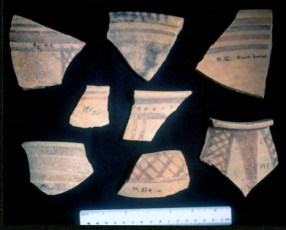 Pottery found at Jericho II