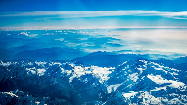 Alpen von oben / Alps from Above