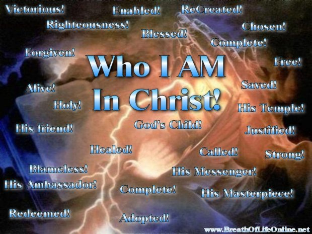 Image result for who i am in christ