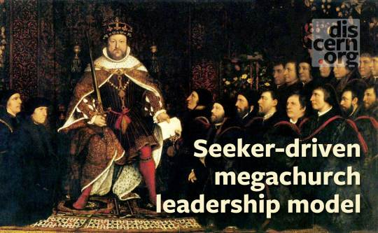 The seeker-driven megachurch leadership model