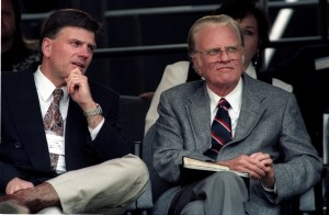 Billy and Franklin Graham