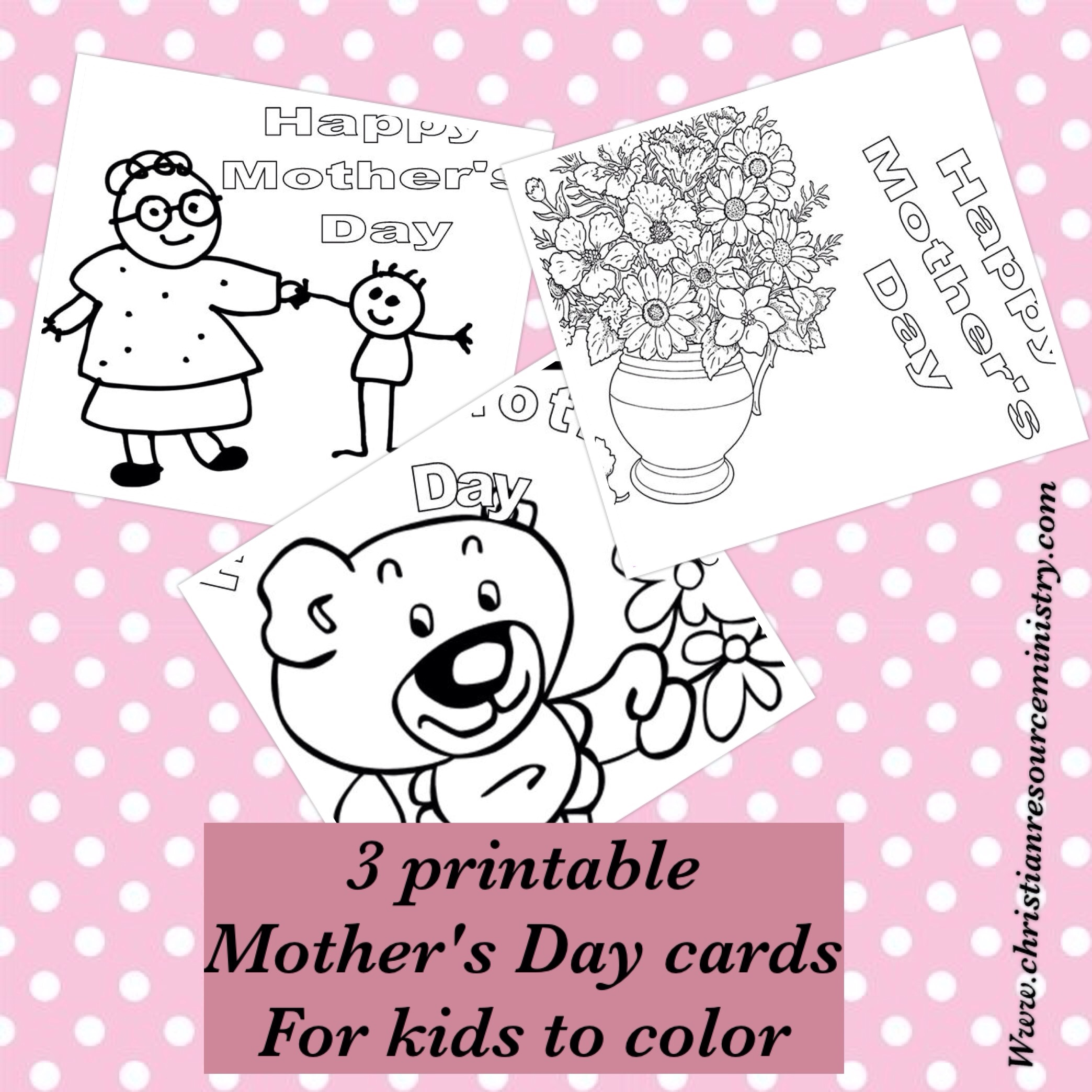 Printable Mother S Day Cards For Kids