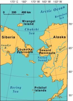 Proximity of Russia to Alaska