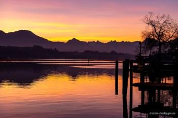 Calm Morning over Lake Lucerne