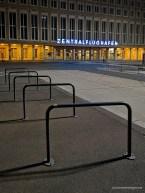Vorplatz des alten Zentralflughafens in Berlin