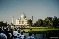 The Taj in the morning light