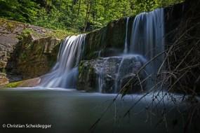 Wasserfall Fischebach